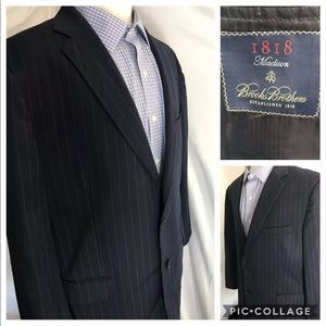 Brooks Brothers 1818 Madison 44R Wool Sport Coat